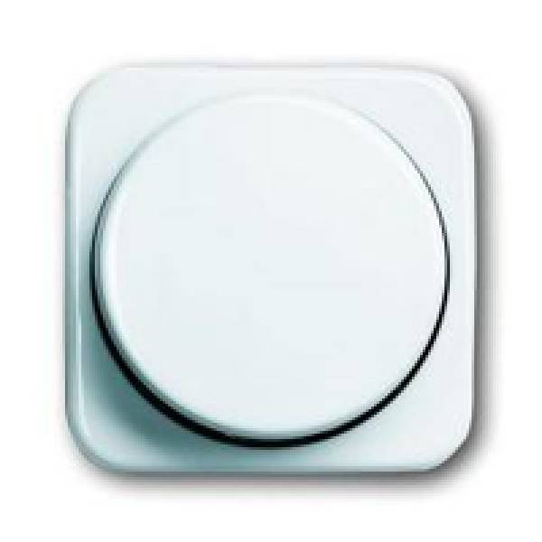 EMAT Centraal plaat Dimmer Creme