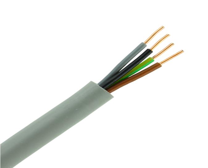 YMVK kabel aansluiten