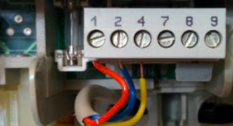 Thermostaatkabel aansluiten