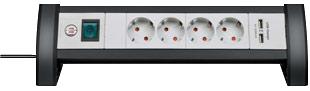 Stekkerdoos met USB