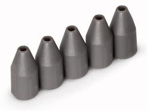 Wago isolatiestop 0,75-1 mm donkergrijs per 25 stuks (2004-172)
