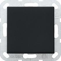 Gira tastschakelaar universele uit-wisselschakelaar system 55 zwart mat