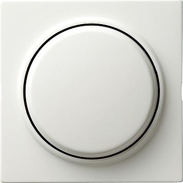 Gira S-color drukvlakschakelaar wissel zuiver wit (012640)