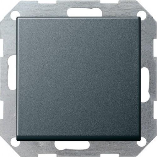 Gira drukvlakschakelaar kruis met wip systeem 55 - antraciet (012728)