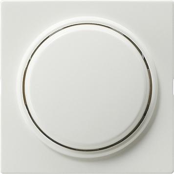 Gira S-color drukvlakschakelaar kruisschakelaar zuiver wit (012740)