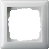 Gira afdekraam 1-voudig - zuiver wit (021103)