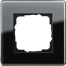 Gira Esprit afdekraam 1-voudig glas C zwart