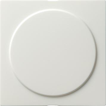 Gira S-color blinde afdekplaat met draagring zuiver wit (026840)