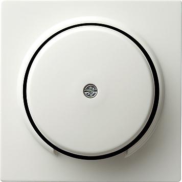 Gira S-color afdekking snoeraftakking verbindinsdoos zuiver wit (027440)
