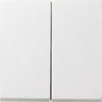 Gira bedieningswip serieschakelaar - zuiver wit (029503)