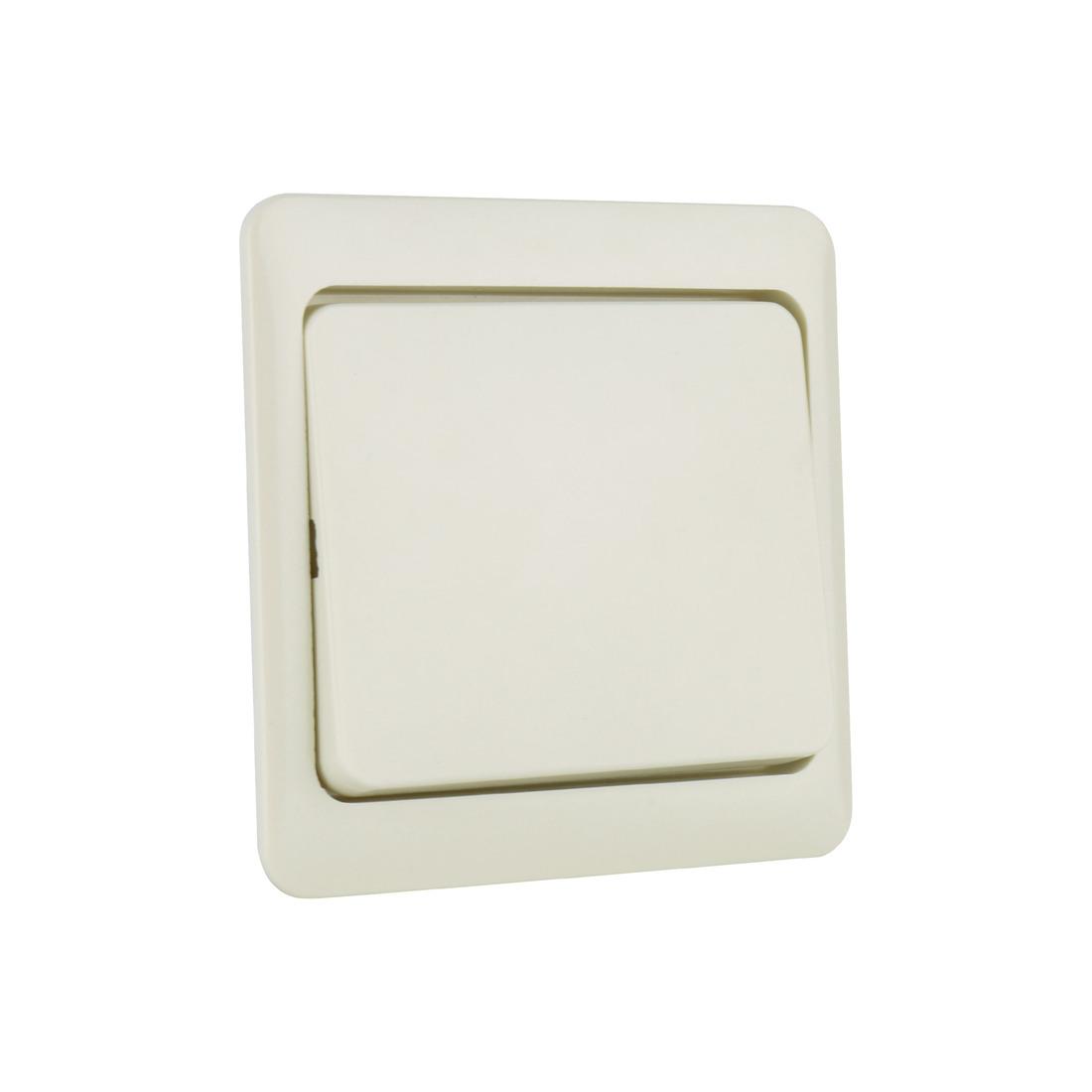 PEHA bedieningswip wisselschakelaar - standaard crème wit (D 80.640 W)
