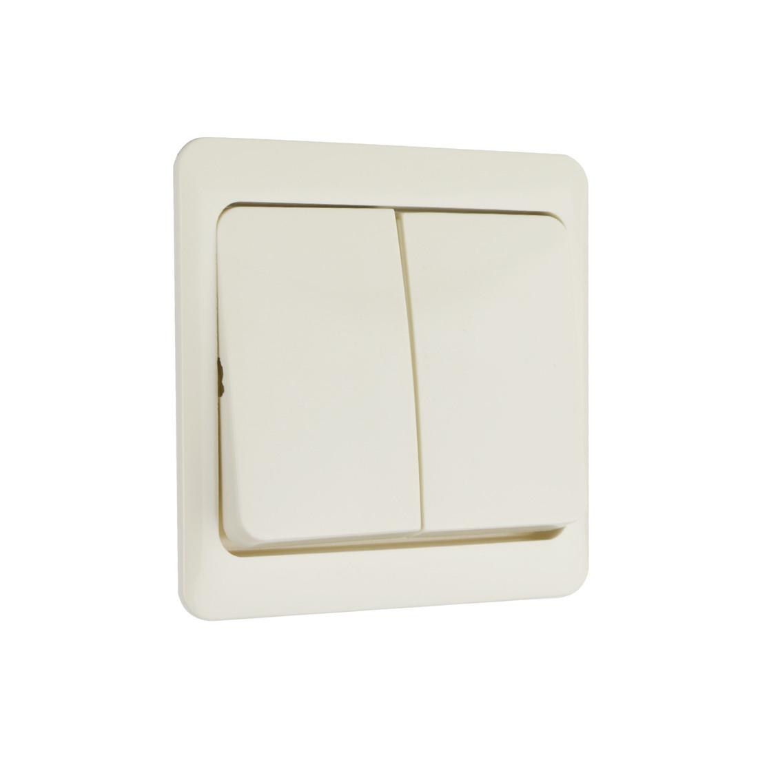 PEHA bedieningswip serieschakelaar - standaard crème wit (D 80.645 W)