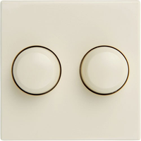 Tradim inlegplaat geschikt voor Jung AS500 - crème (04816)