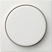 Gira centraalplaat dimmerknop - zuiver wit (065003)