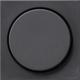 Gira centraalplaat dimmerknop - systeem 55 antraciet (65028)
