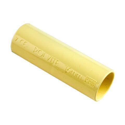 PIPELIFE sok installatiebuis 16 mm Polivolt creme per 50 stuks