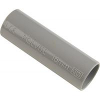 PIPELIFE sok installatiebuis 16 mm slagvast grijs per 50 stuks