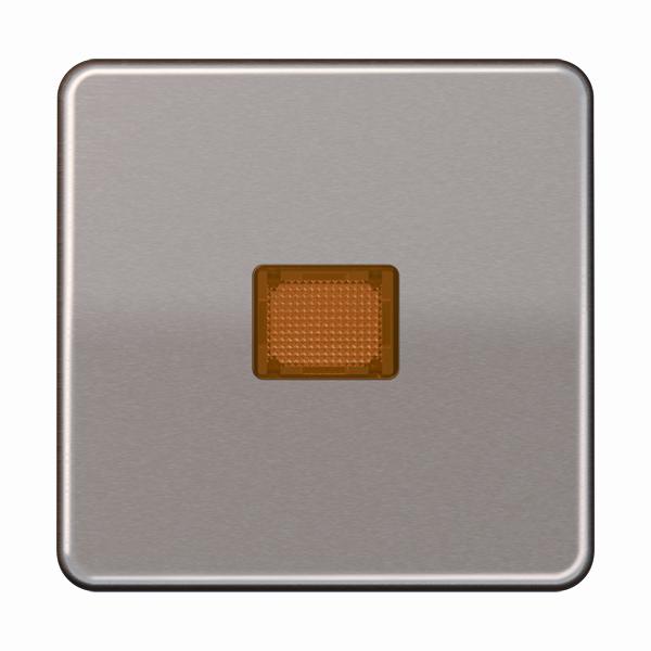 Jung (Hateha) schakelwip met lens - CD500 goud (CD590KOGB)