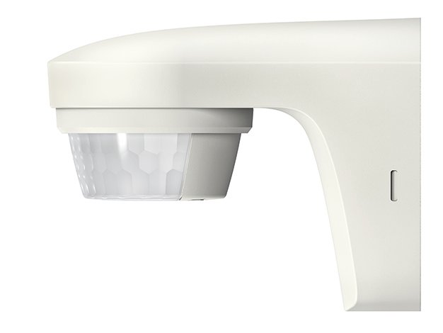 Theben bewegingsmelder voor buiten 150 graden en diameter reikwijdte 12 m - wit  (theLuxe 150)