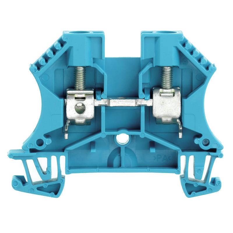 WEIDMULLER rijgklem meerdraads 6 mm blauw (1020280000)