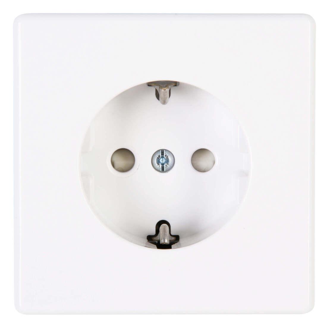 Kopp VISION stopcontact 1-voudig ra kinderbeveiliging arctic wit