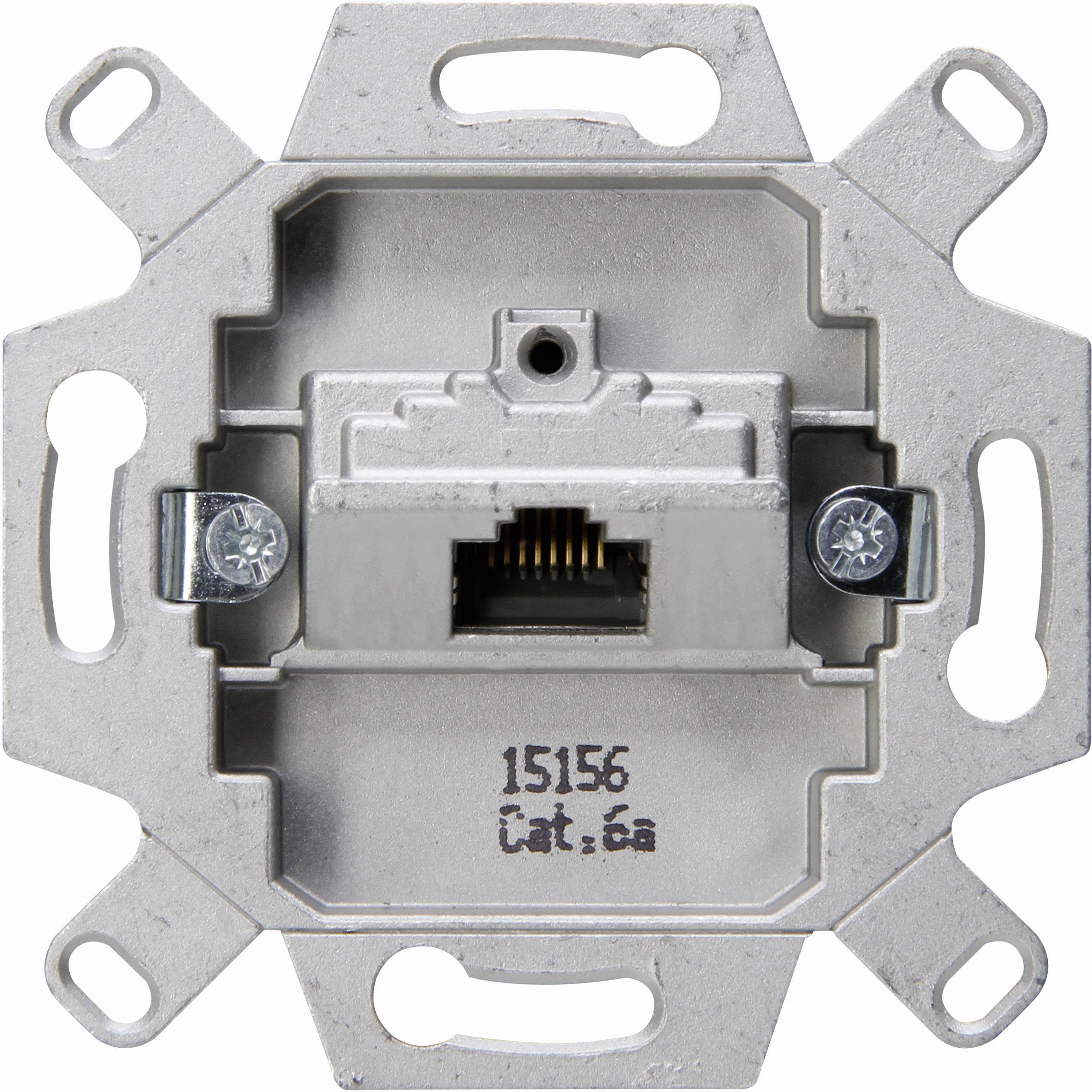 Kopp sokkel cat6 1x8p afgeschermd per 5 stuks (114401007)
