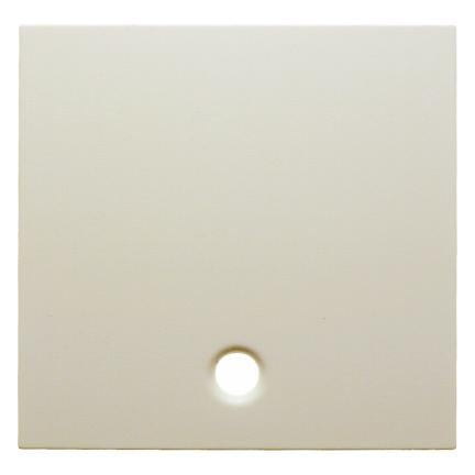 Hager centraalplaat voor trekschakelaar - S.1 crème wit glanzend (11468982)