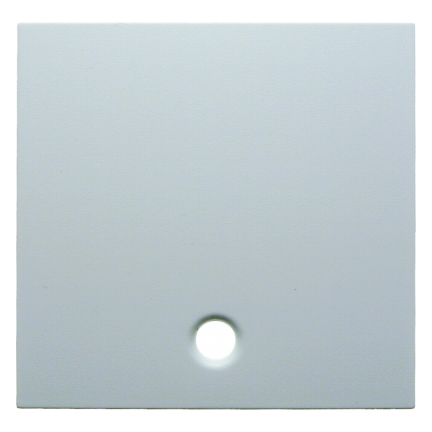 Hager centraalplaat voor trekschakelaar - S.1 polarwit glanzend (11468989)