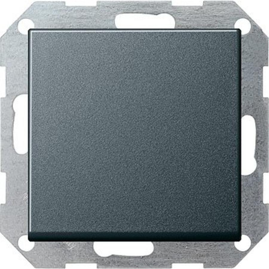 Gira drukvlakschakelaar wisselschakelaar systeem 55 - antraciet 012128