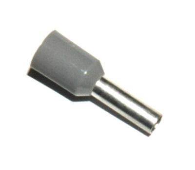 SOLAR adereindhuls geïsoleerd 0,75 mm² grijs - per 100 stuks