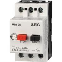 AEG motorbeveiligingsschakelaar 1,6 - 2,5A MBS25