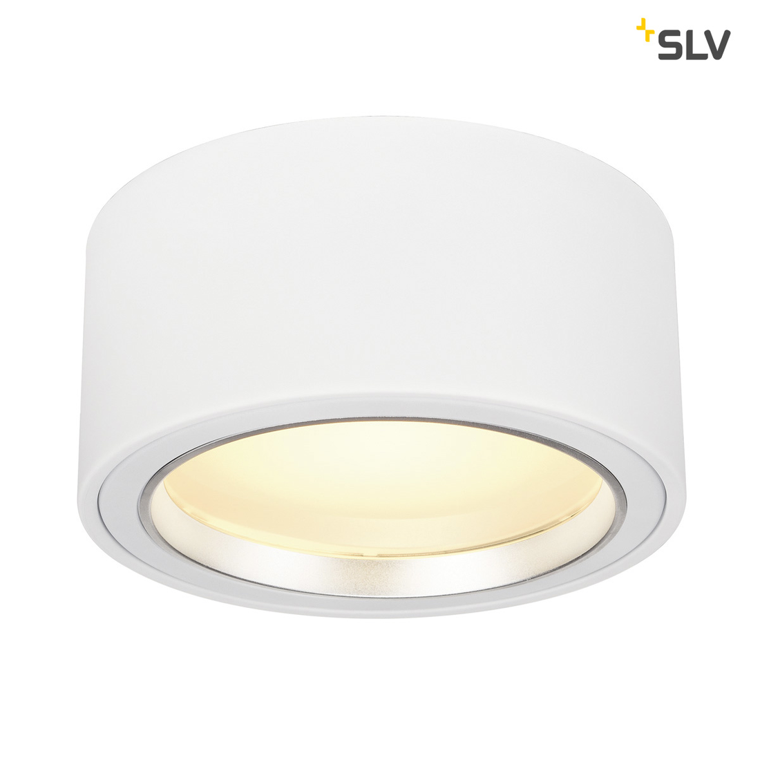 SLV LED SURFACE SPOT 1800lm rond wit 48 LED 3000K
