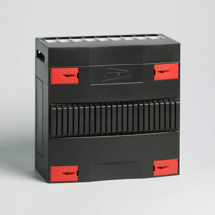 ATTEMA click-mate leeg 1-rij 12 modules 220x220 mm