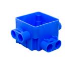 ABB set centraaldoos 8x5/8 met vierkant deksel met haak