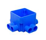 ABB centraaldoos 55 mm 8x16 mm laag + 8x16 mm laag (165B)