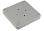 ABB HAF kabeldoos deksel grijs inclusief schroeven 3640/D (7130.150)