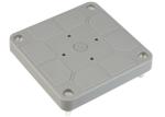 ABB HAF kabeldoos deksel grijs inclusief schroeven (3640/D)