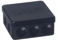 ABB Installatiedozen en -kasten kabeldoos IP55 zwart (AP9/M)