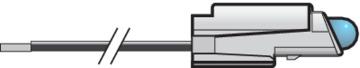 Niko Basiselement - LED lamp Blauw 170-37623
