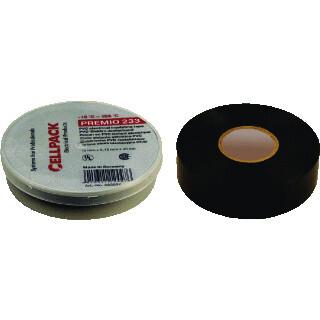 Cellpack isolatietape premio 233 zwart 19mmx20m 1 rol (223607)