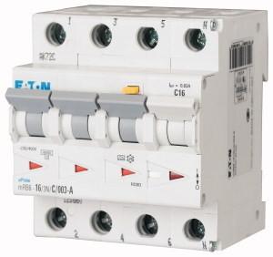 Eaton aardlekautomaat 3-polig+nul 16A B-kar 300mA (2700863803)
