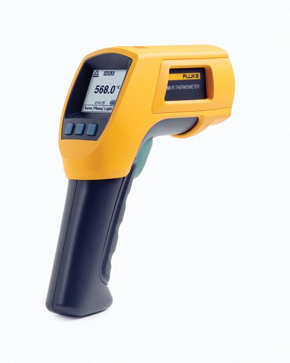FLUKE Infrarood- en contactthermometer -40 tot 800ºC, incl. koffer, software