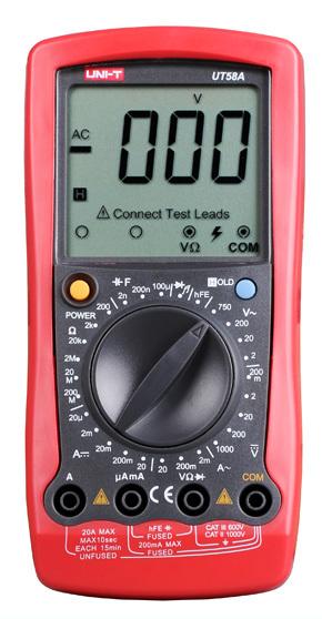 UNI-T Multimeter UT58A