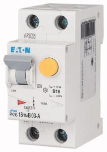 Eaton aardlekautomaat 1-polig+nul 16A B-kar 300mA (236635)