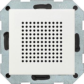 Gira Systeem 55 luidspreker voor inbouwradio - zuiver wit mat (228227)