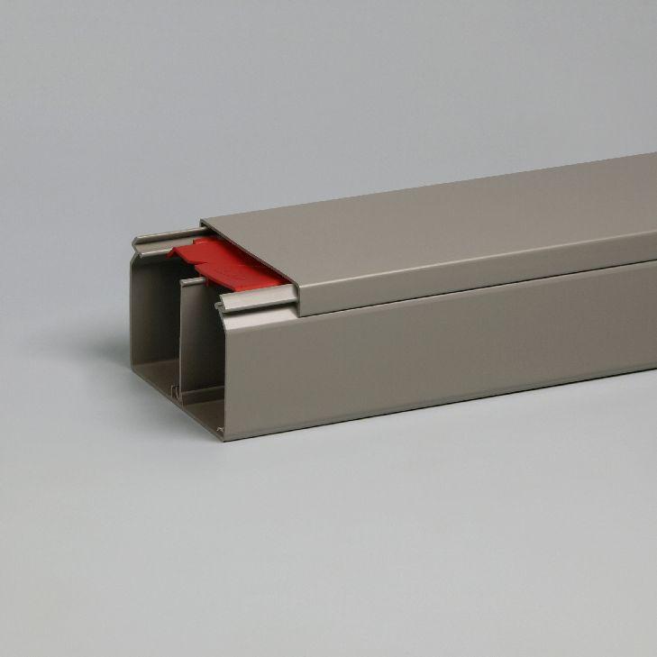 ATTEMA KK kabelkoker met deksel 90x60 mm - grijs per 2 meter (2350)