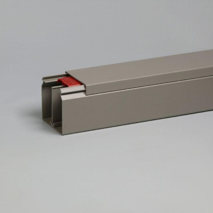 ATTEMA KK kabelkoker 60x60 mm - grijs per 2 meter (2440)