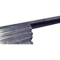 Hamel Metaal 20X10VERN RAILKOPER VERN.20X10MM 1 82KG per 4 meter