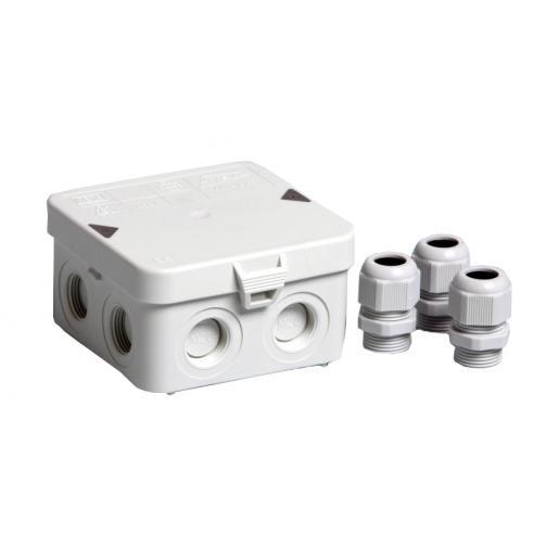 ATTEMA kabeldoos AK1-IP65 met nylon wartels (2271)