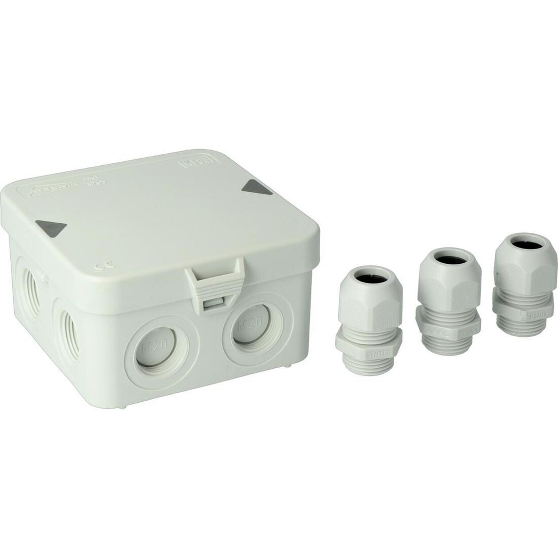 ATTEMA kabeldoos AK1 3xM20 wartels (AT2280)